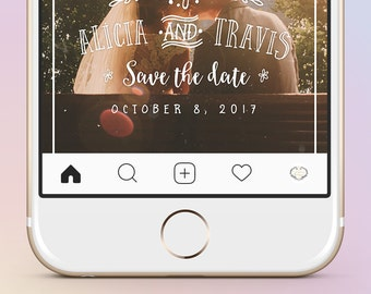 Instagram parallax video from your wedding photo