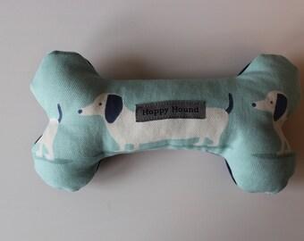 Handmade Dog Toy - Blue Dachshund