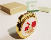 RESERVED - Vintage Fisher Medallion Lighter, With Original Box and Papers