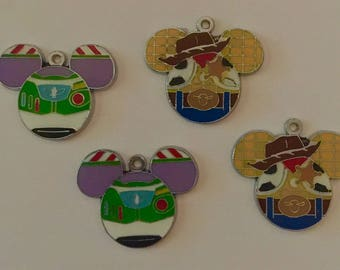 Woody and Buzz Charms