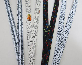 Lanyards featuring Music  (Your Choice)