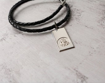 Personalised Saint Christopher Necklace