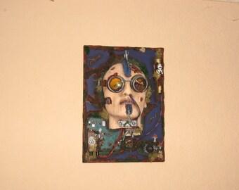Psychonaut wall-hanging