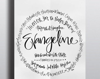 Evangeline Parish - Print (8x10)