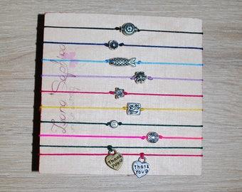 Elegant bracelet with mini charms