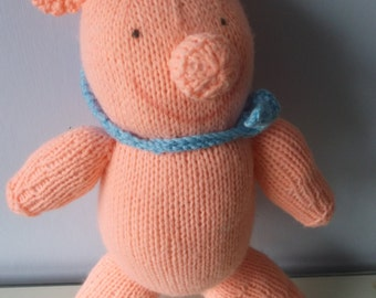 Knitted Large Pigs
