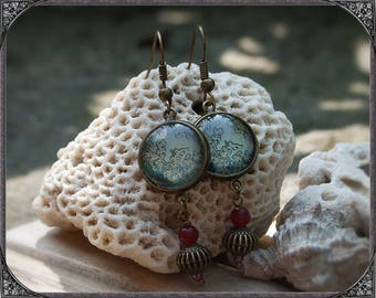 Cabochon Vintage Earrings AprilGarten