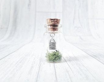 Handmade Lucky Wish Charm | Wish Jar | Grass