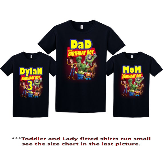 Toys For Tots Logo For T Shirts : Toy story birthday shirt custom personalized