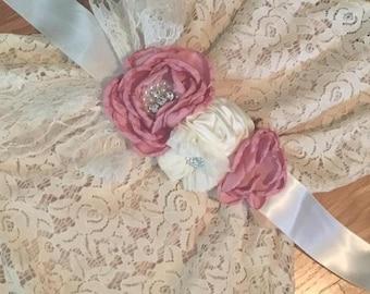 Pink Chic Headband & Sash