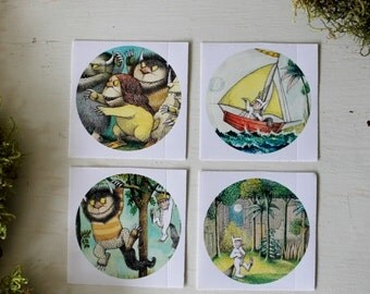 Wild Things Stickers