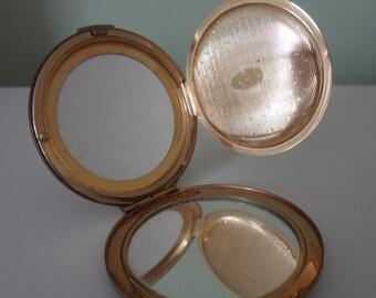 Stratton Vintage Compact Mirror Metal