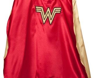 Wonder Woman, Girls Superhero Cape, Wonder Woman Cape
