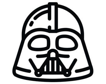Darth Vader Decal Star Wars Themed Decal