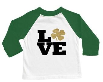 Unisex Raglan T-shirt-St. Patrick's Day designs