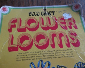 Vintage Flower Looms By Ecco Craft---NEW In Package!