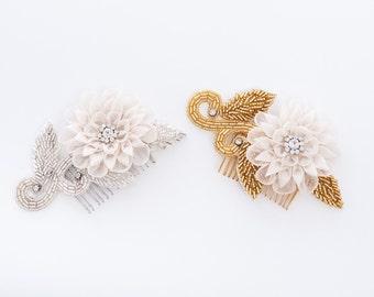 60% Silk Flower Vine Wedding comb- trade show sample