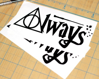 Harry Potter Always Sticker | Harry Potter Decal