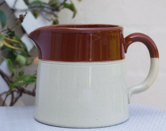 Stoneware jug, Earthenware jug, made in Australia