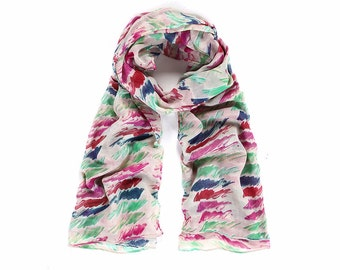 Multi Colour Long Scarf SC2035j