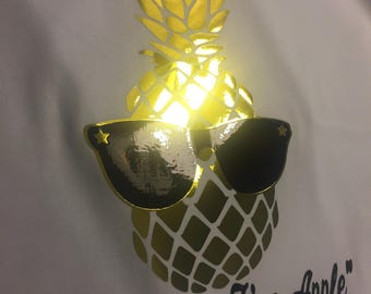 "Pineapple Tee ""One Serious Fine-Apple"""