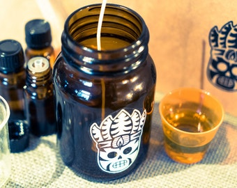 The Wick Doctor Soy Candle Cult Membership - 6 Months Subscription (6 Candles, One Per Month).
