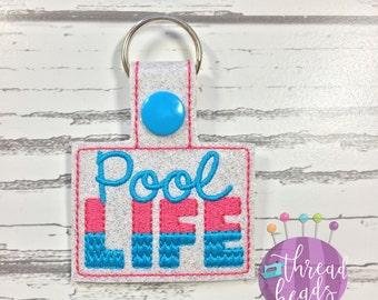 Pool Life Key Fob, Key Chain