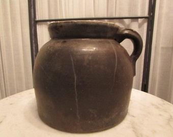 antique stoneware Chinese pot vessel