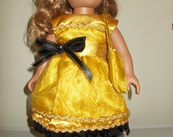 18 Inch Golden Dream Dress