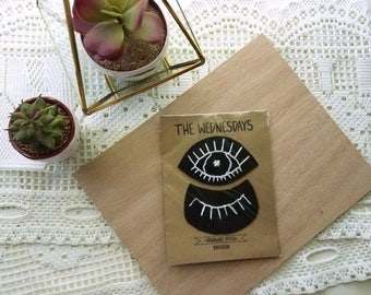 Open and Close Handmade Eye Patches