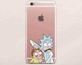 Rick and Morty iPhone 7 Case Samsung Galaxy S7 iPhone 6 Case Samsung Galaxy S6 iPhone 6 Plus Case Cartoon iPhone 6s Plus Case Galaxy Note 4