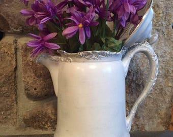 Vintage silver plated coffee/water jug