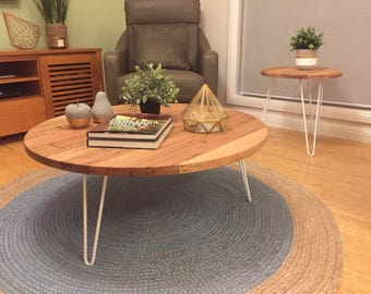 Hairpin Leg Round Coffee Table