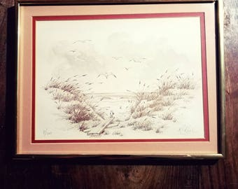 Rolly Ray Reel signed Print number 8/500