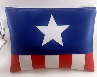 Captain America Inspired Purse