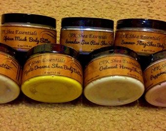 Creamy Shea Amazing Body Butters!