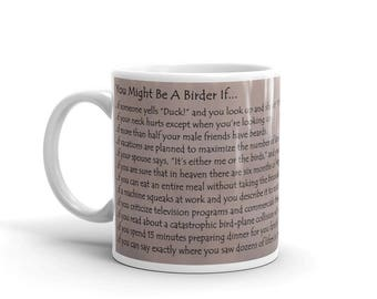 You Might Be A Birder Mug