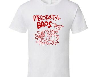 Pterodactyl Bros T Shirt