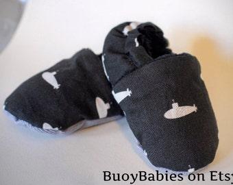 Submarine Baby Booties