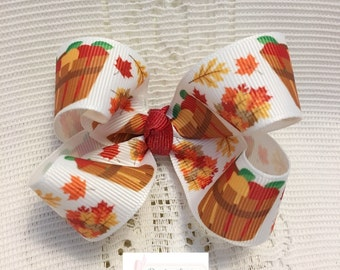 Fall Boutique Bow