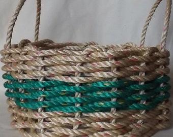 Med Natural/ Green Round or Oval Basket