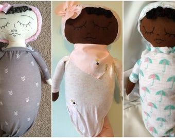 Custom pod baby baby doll