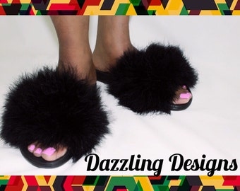 Furry Fashionable Footwear