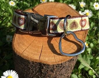 "Dog collar ""Alpenliebe green"""