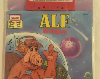 ALF drops in Book/Tape never opened