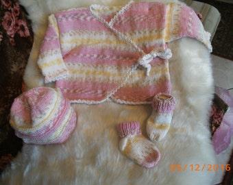 Girl knitting set