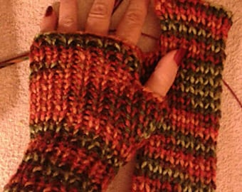 One by One fingerless gloves