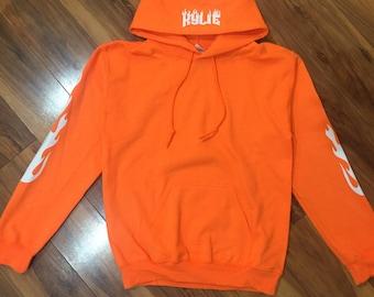 """Kylie Jenner Hoodie- """"KYLIE"""" (White-Print)"""