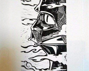 print, star wars, Darth Vader.