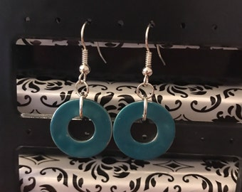 Funky Washer Earrings